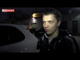 Полиция растреляла  Porshe с номером 666